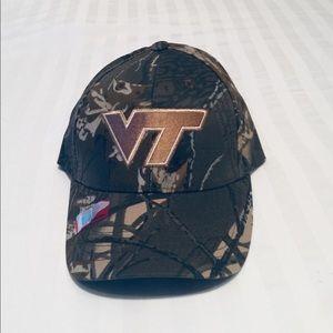 Virginia Tech Camo adjustable hat.